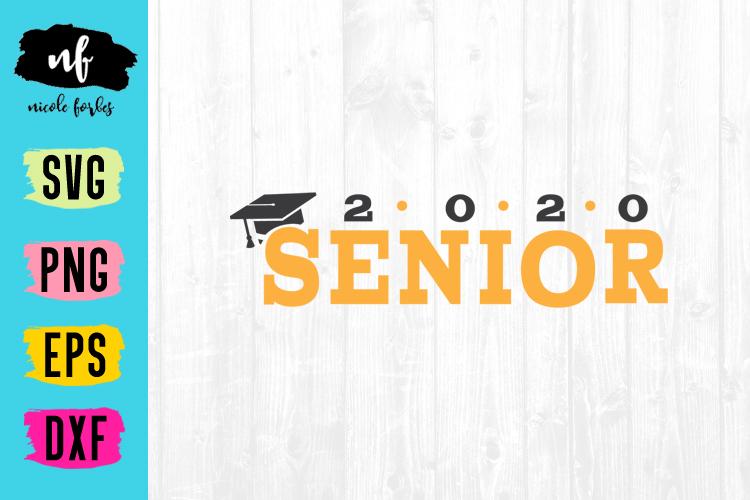 Senior 2020 Graduation SVG Bundle example image 14