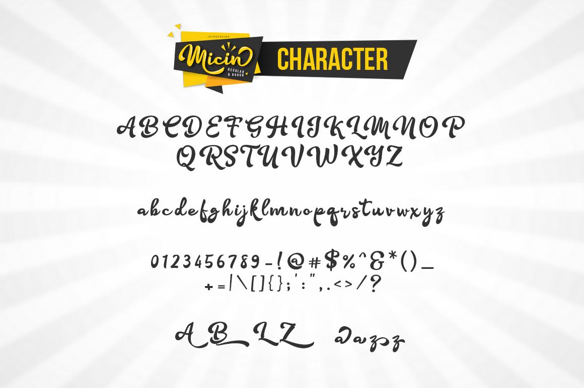 Micin Script example image 3