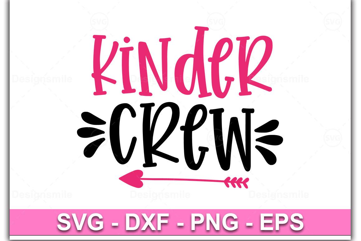 Kinder Crew svg, Kinder svg, dxf, png, instant download example image 1
