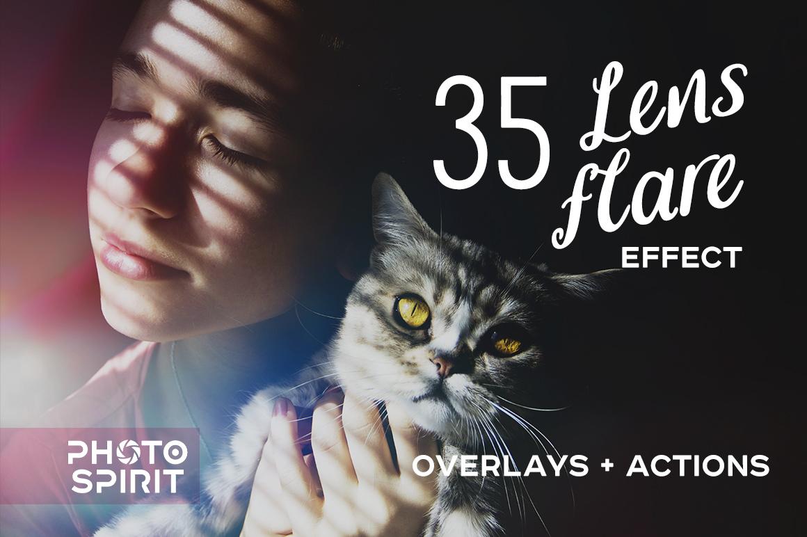 Lens Flare Effect Photoshop example image 1