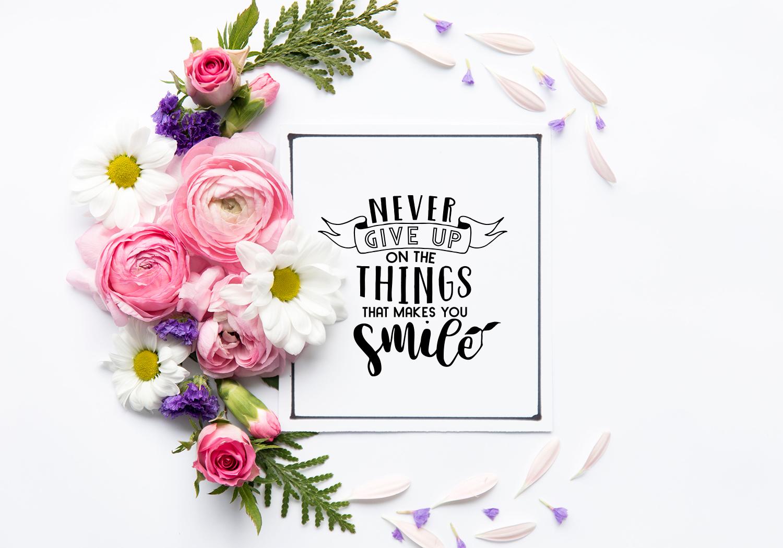 Motivational Quote SVG Cut Files Bundle example image 10