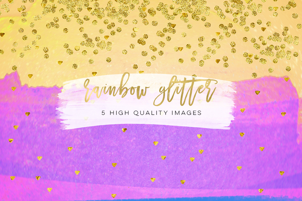 Clip Art watercolor paper glam sticker paper 300 dpi, glitter stickers, summer glitter, Personal Size Weekly Kit Paper, diamond party DIY example image 2