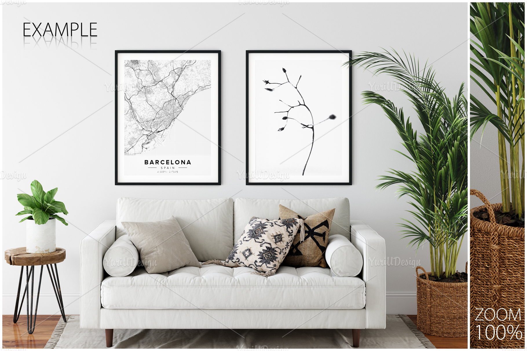 Frames & Walls Coastal Mockups Bundle example image 21