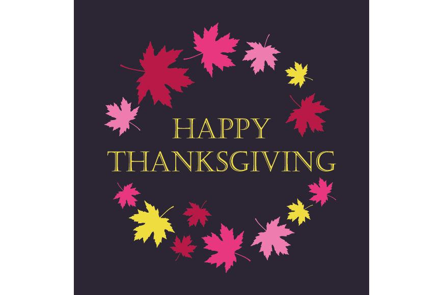 Set of 6 seamless vector backgrounds and 6 posters Thanksgiving Day. example image 7