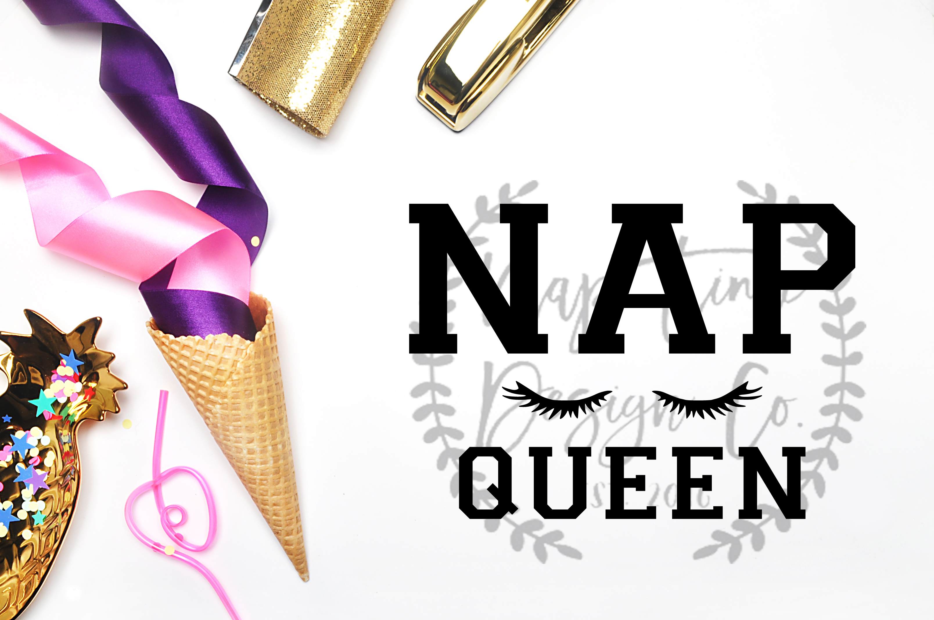 Nap Queen SVG example image 1