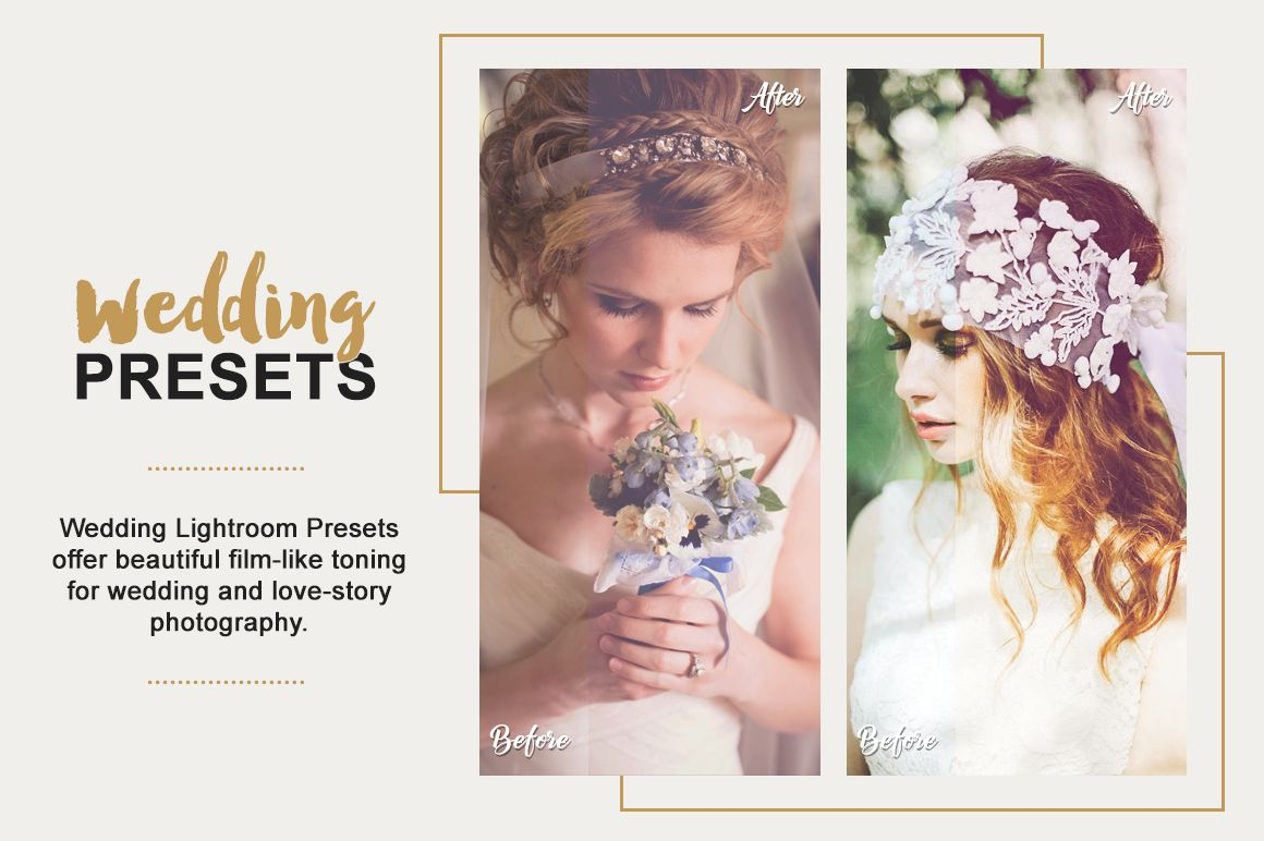 Wedding Lightroom Presets Collection example image 5