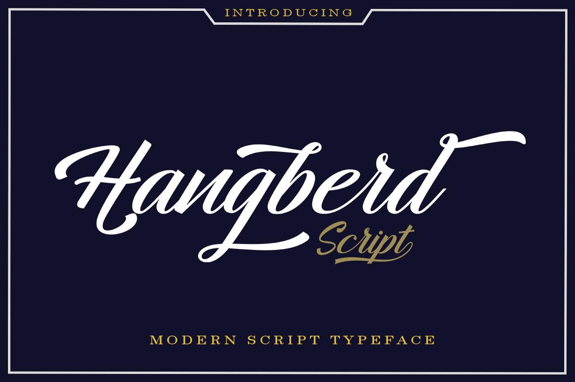 Hangberd Script example image 1