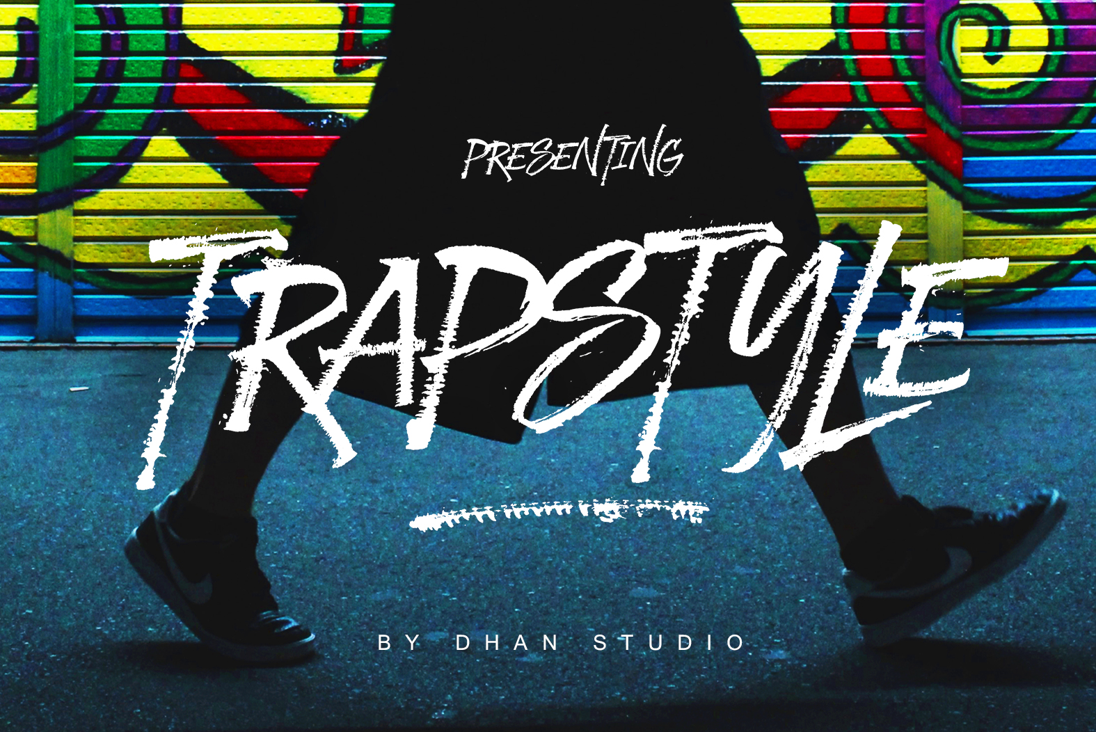 Trapstyle - Ruling Pen Font example image 1