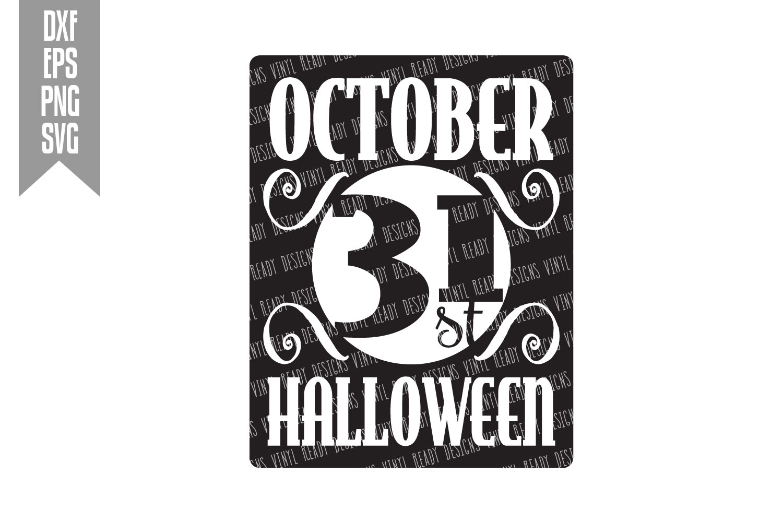 Halloween Bundle #1- 30 designs - Vector Clip Art File example image 24