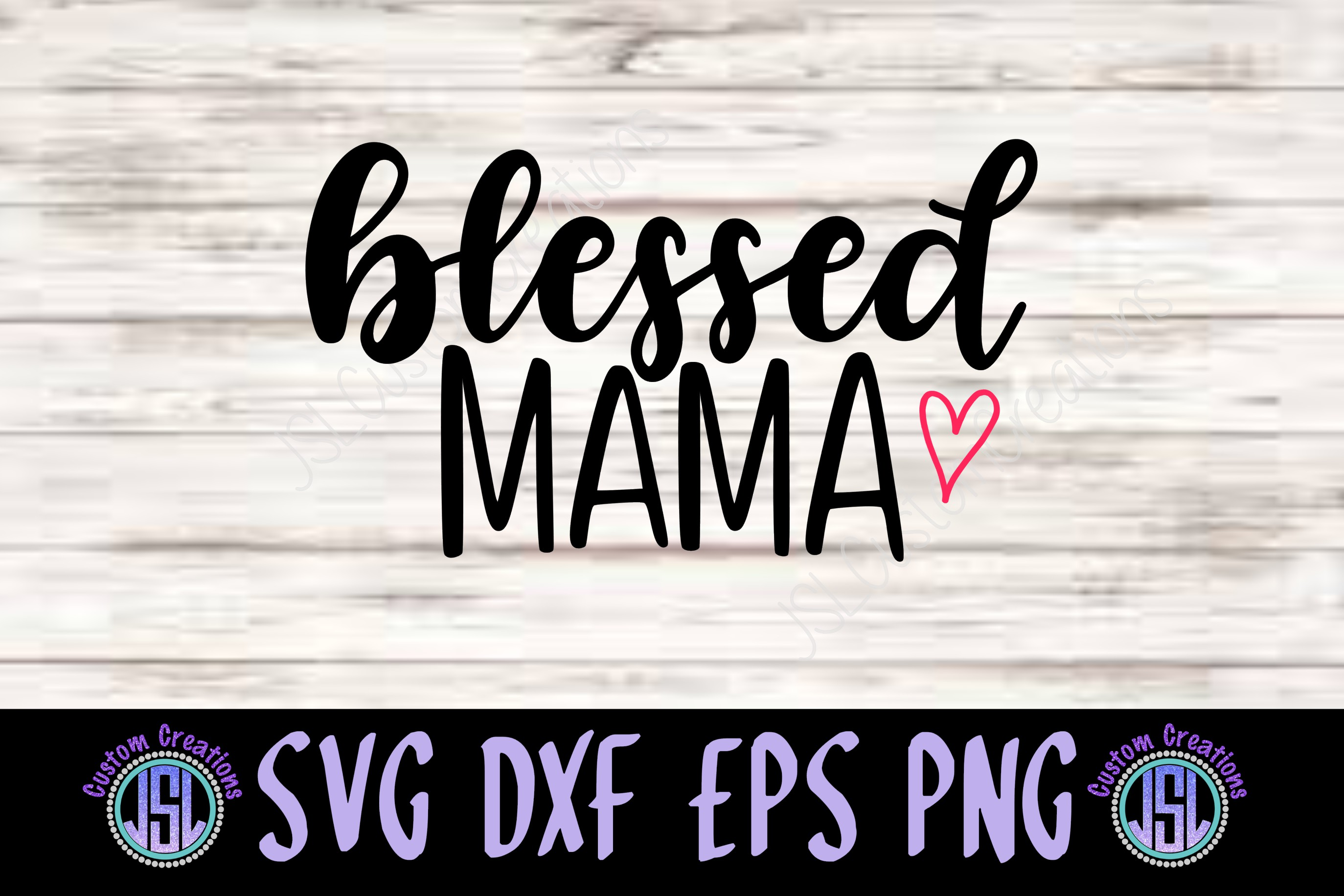 Blessed Mother Daughter Set of 2 | SVG DXF EPS PNG Files example image 3
