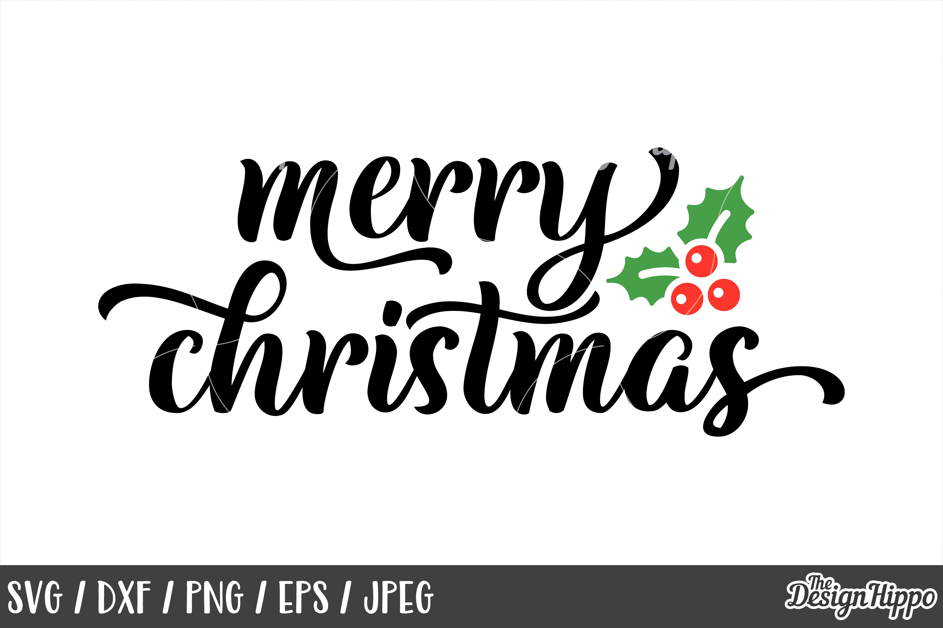 Merry Christmas SVG Bundle, Christmas SVG, PNG, DXF Cut File example image 6