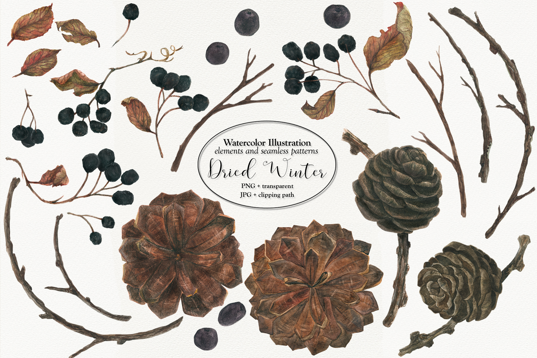Dried Winter vol. 2 example image 1