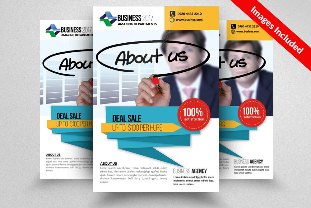 Decks & Fencing Flyer example image 1
