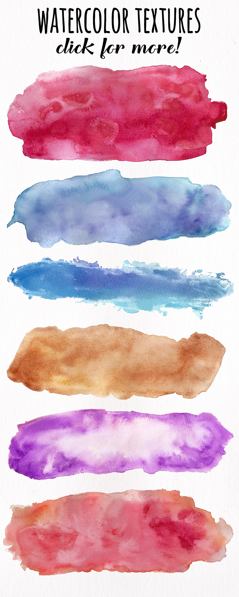 Watercolor Textures - card edition example image 16