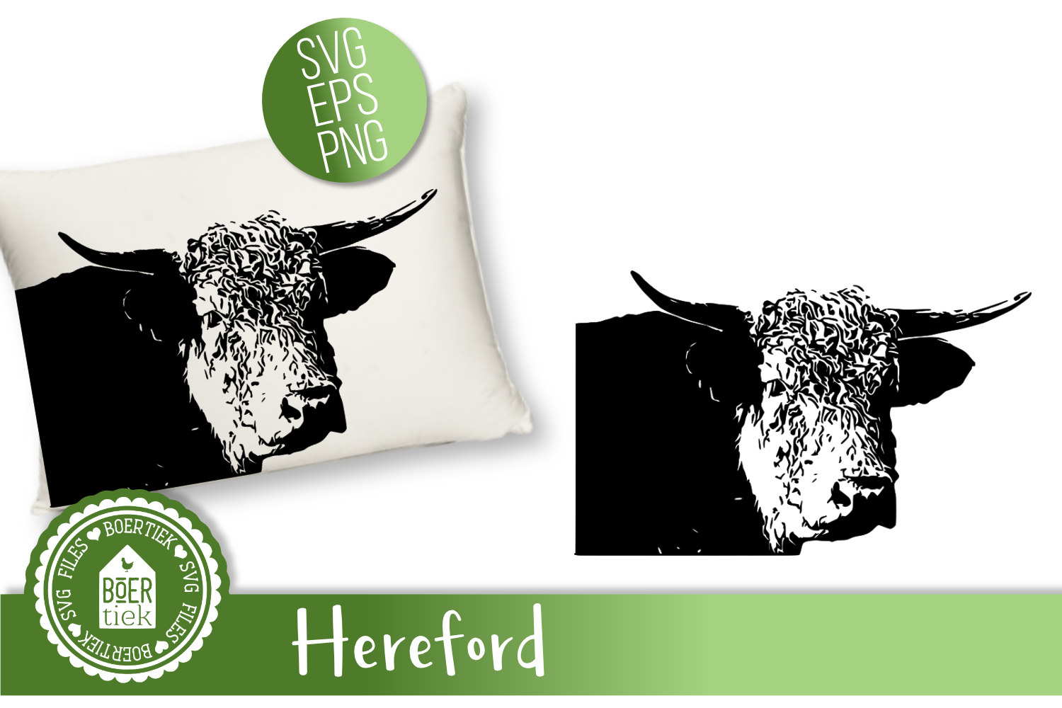 Cow Hereford example image 1