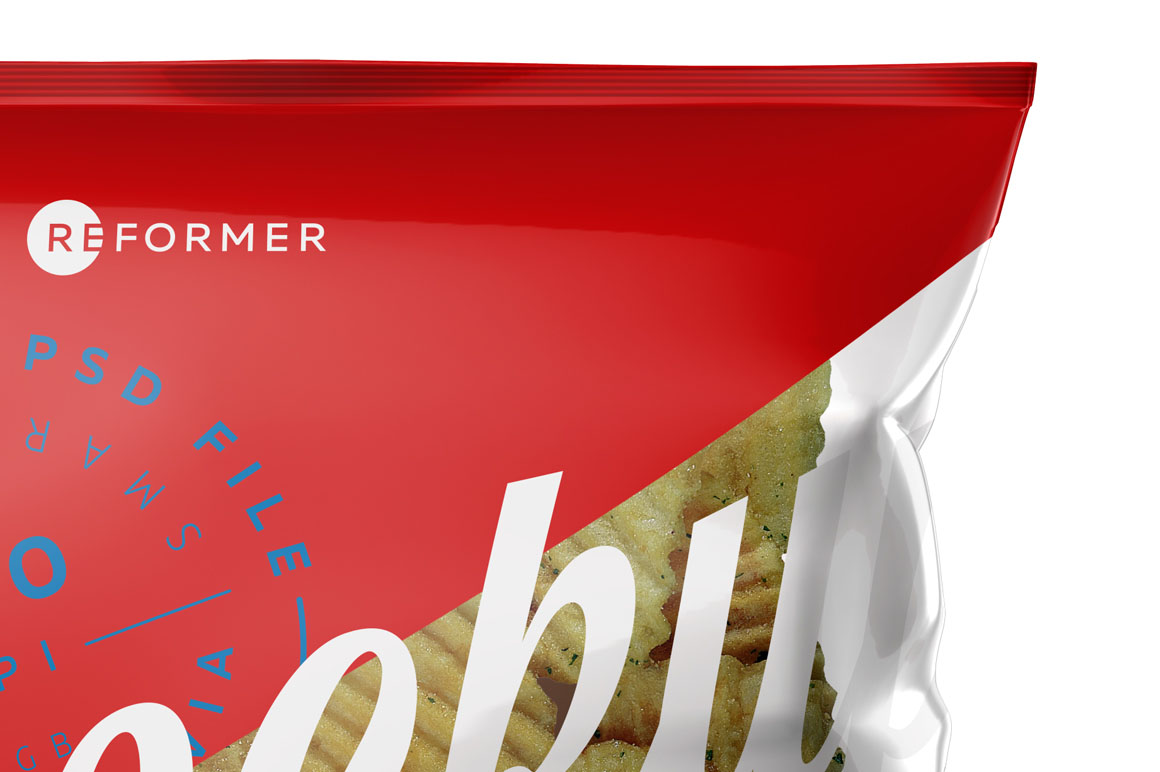Six Snack Bags Mockup Bundle example image 11