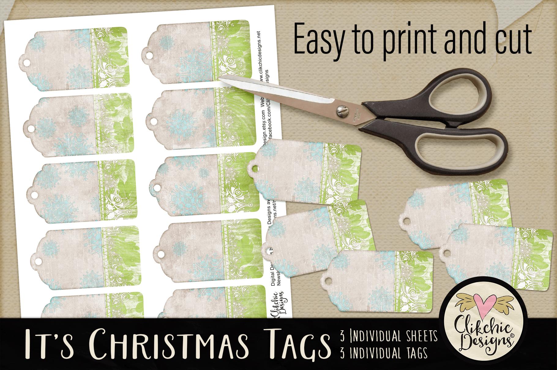 Christmas Tags - Printable It's Christmas Gift Tags example image 3