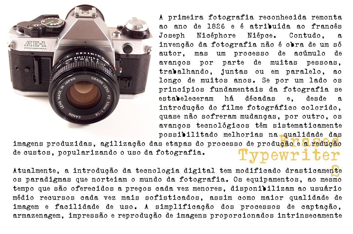 Erased Typewriter 2 example image 1