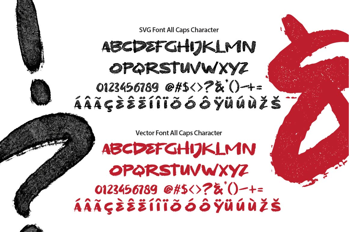 BLACKDAY - SVG & VECTOR font example image 6