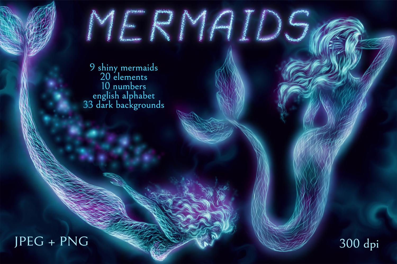Shiny Mermaids example image 1