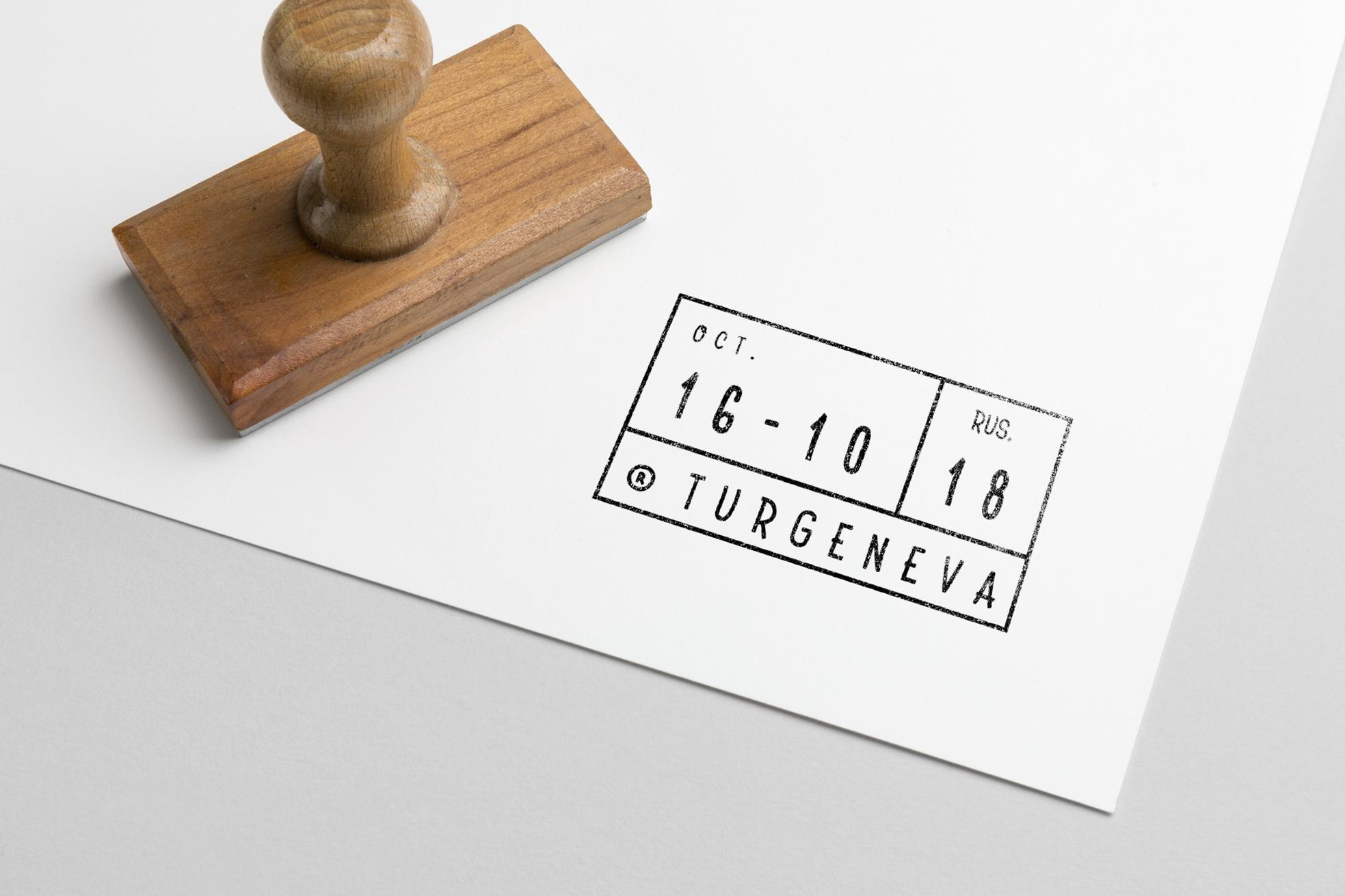 Turgeneva Handdrawn Font example image 7