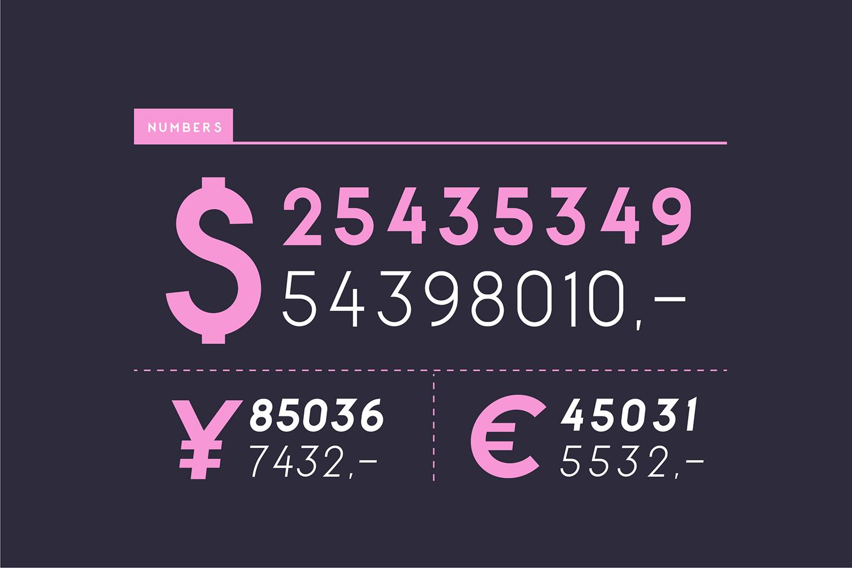 George Round 8 Fonts Round Edge Geometric Typeface example image 14