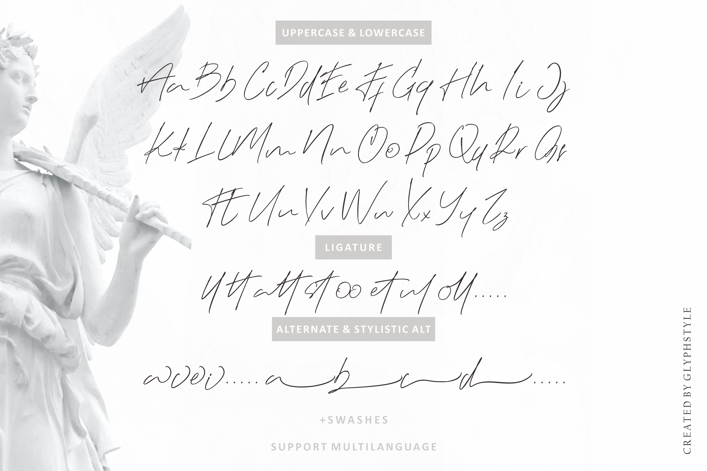 Black Angel - a Natural Signature Script example image 7