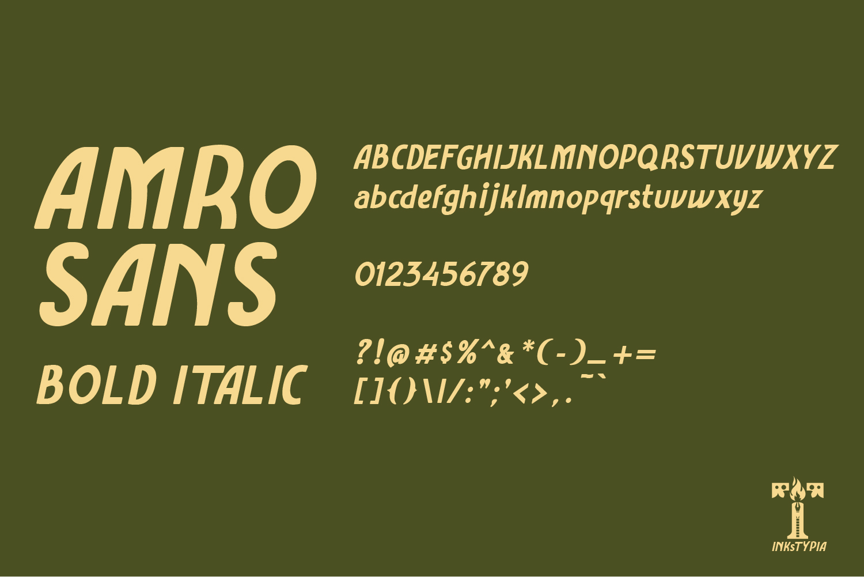 Amro Sans example image 9