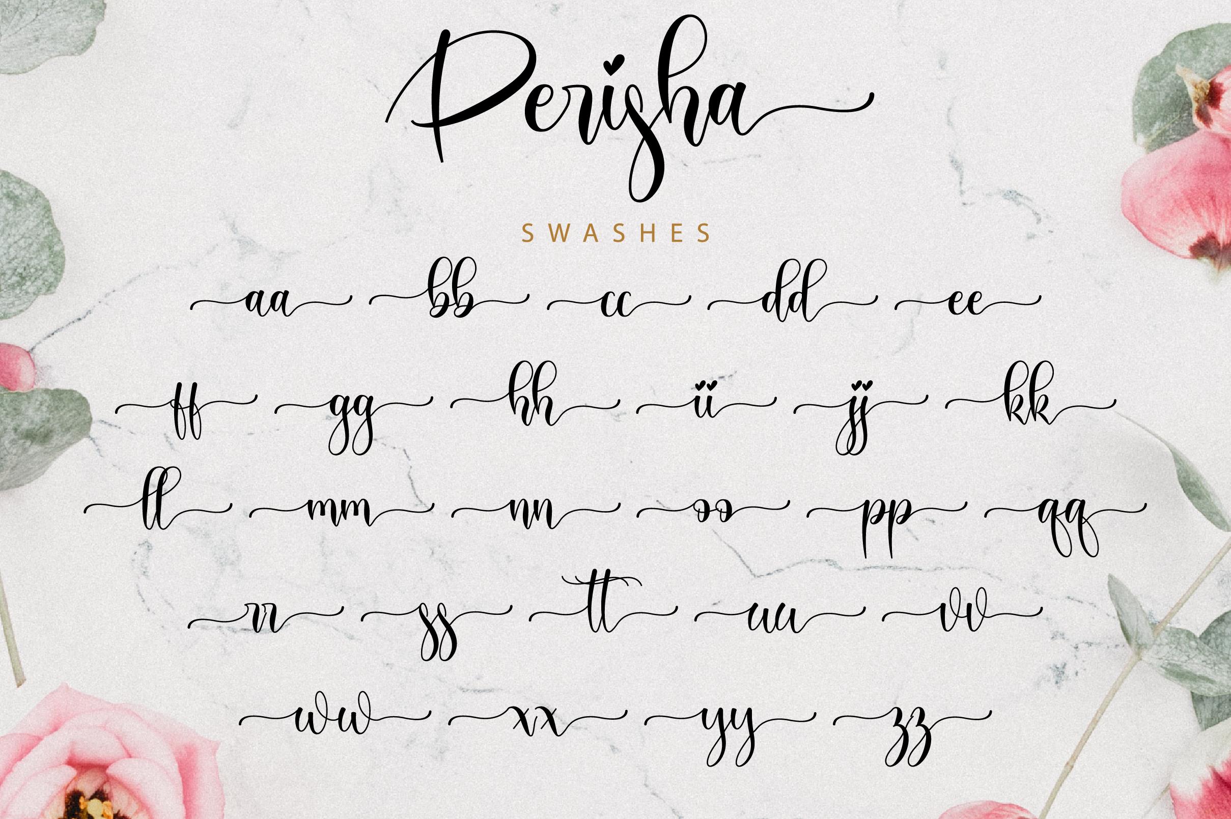 Perisha Script example image 12