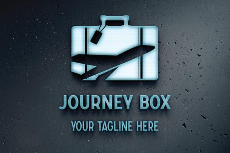 Aeroplane Logo, Box Shape example image 3