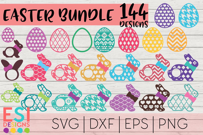 Easter Mega Bundle| Easter Bunny | SVG DXF EPS PNG example image 5
