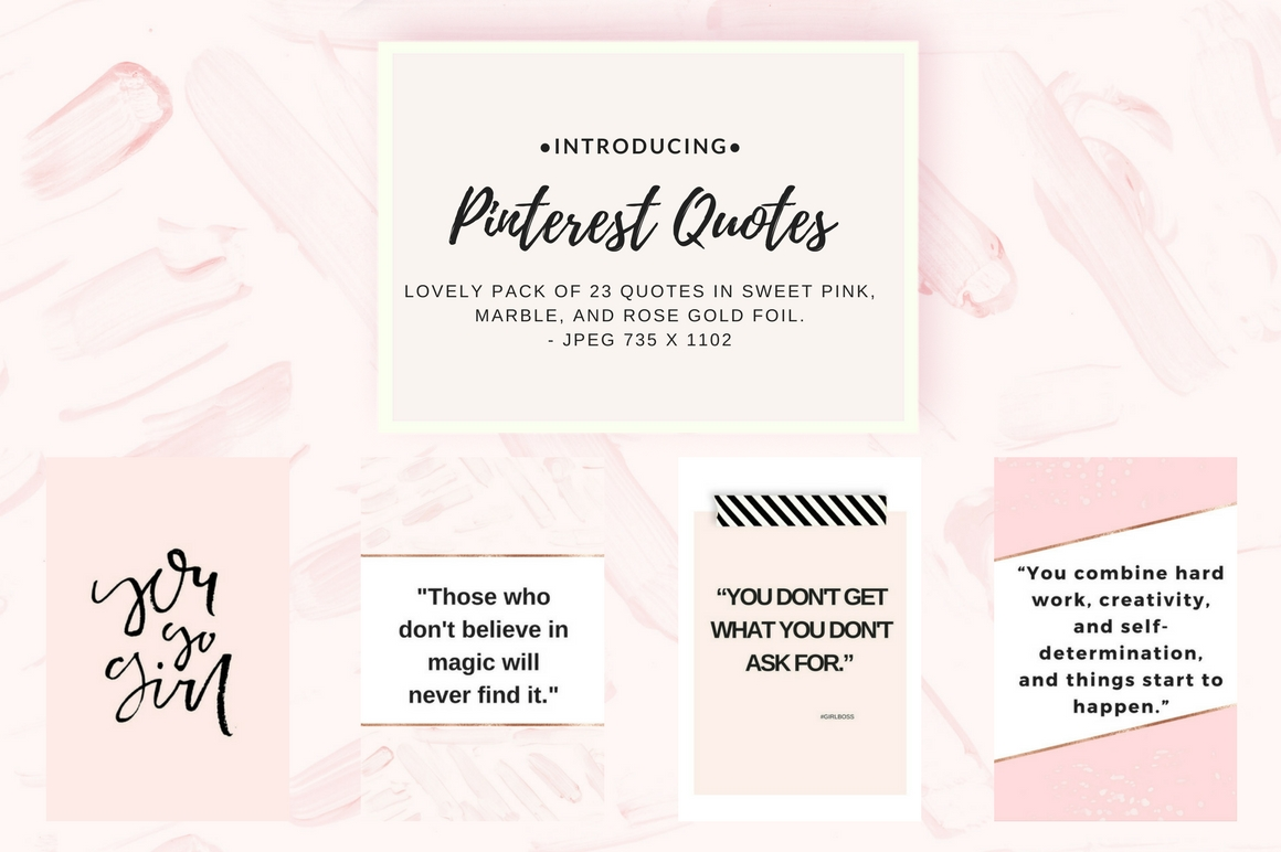 Pinterest quotes pack example image 2