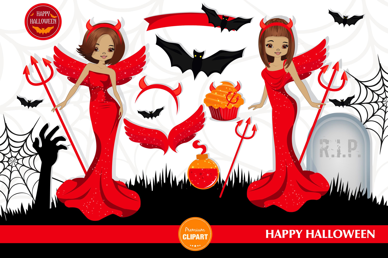 Halloween bundle, Halloween illustrations example image 2