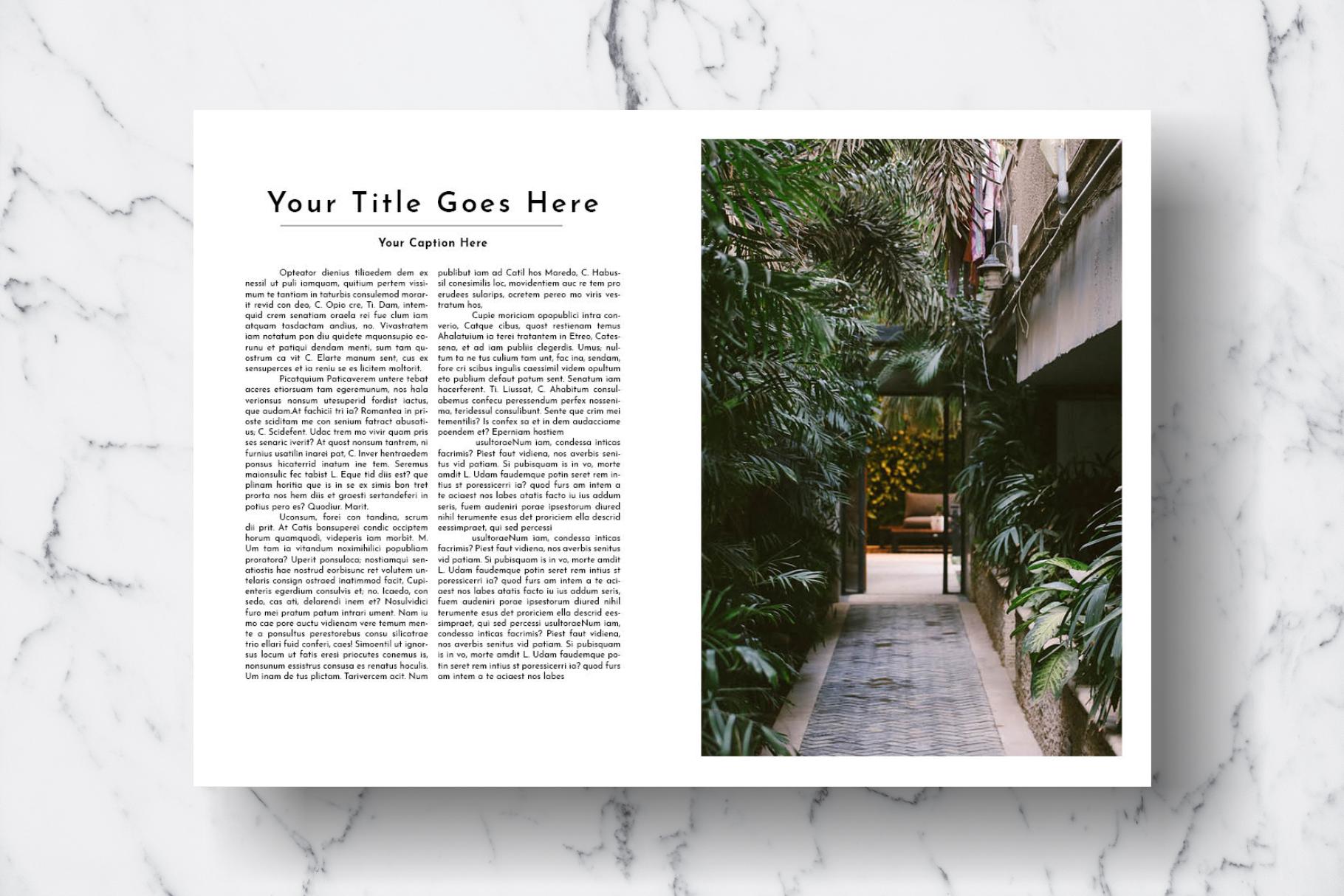 Magazine Template Vol. 17 example image 10