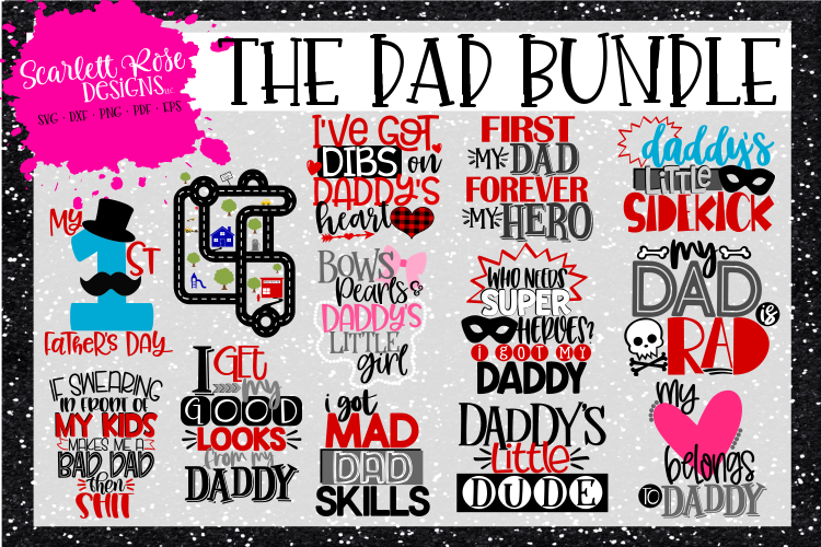 The Dad SVG Bundle - Father's Day SVG example image 1