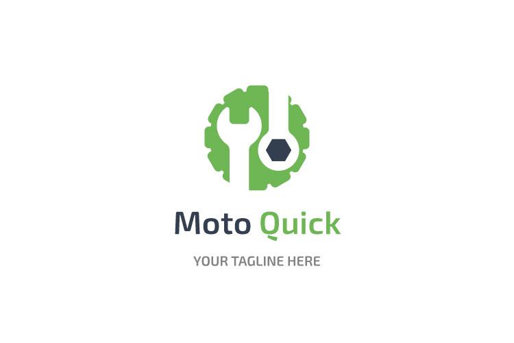 Car Engine Mechanic Logo example image 1