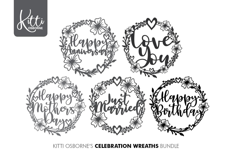 Celebration wreath Bundle example image 1