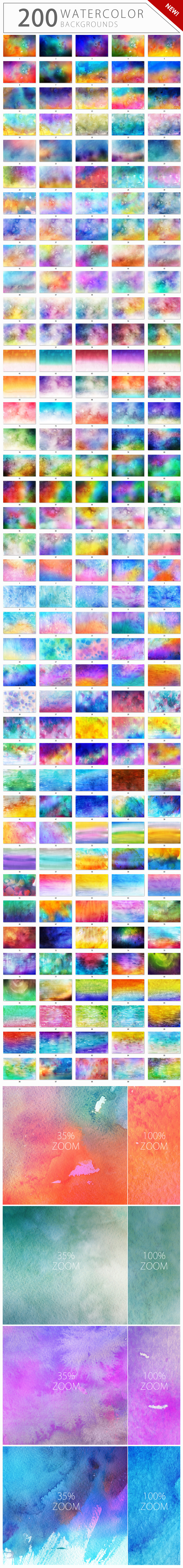 Supermassive Backgrounds Bundle example image 10