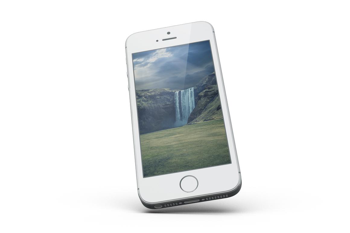 iPhone SE Mockup example image 16