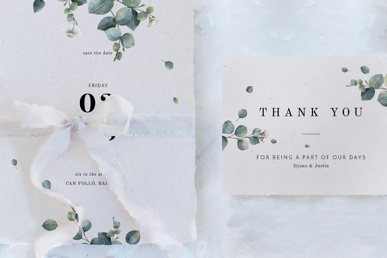 Eucalyptus Foliage Wedding Suite example image 3