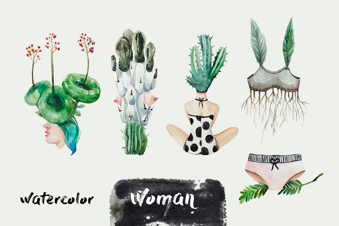 Woman & Nature example image 2