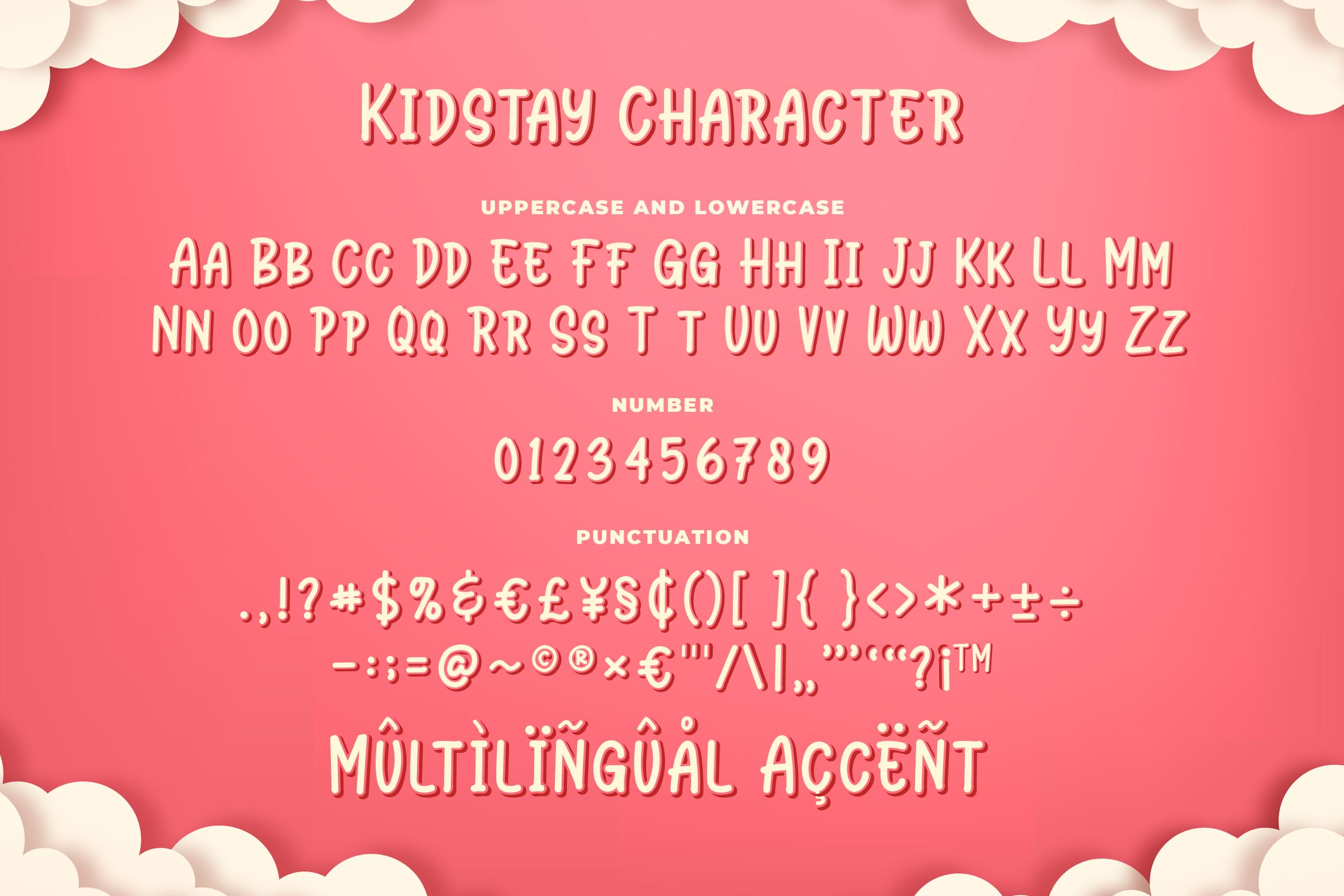 Kidstay - Layered Playful Font example image 5