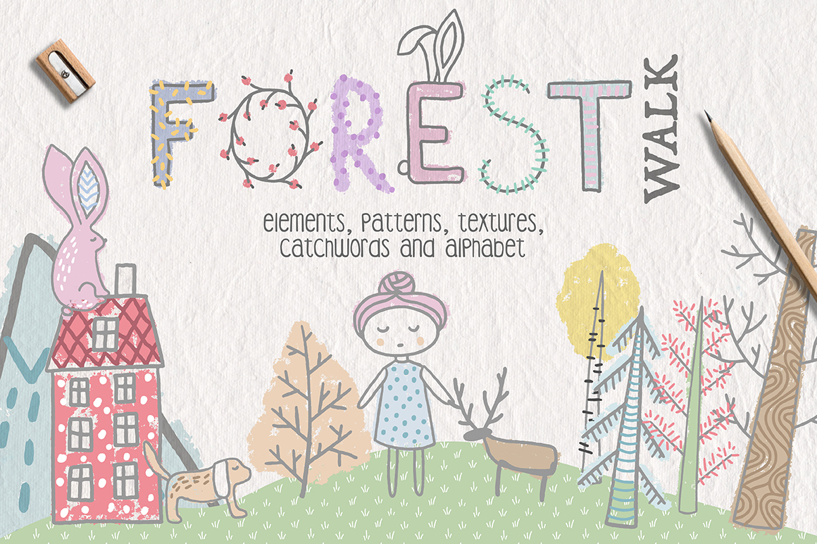 Forest Walk Collection example image 1