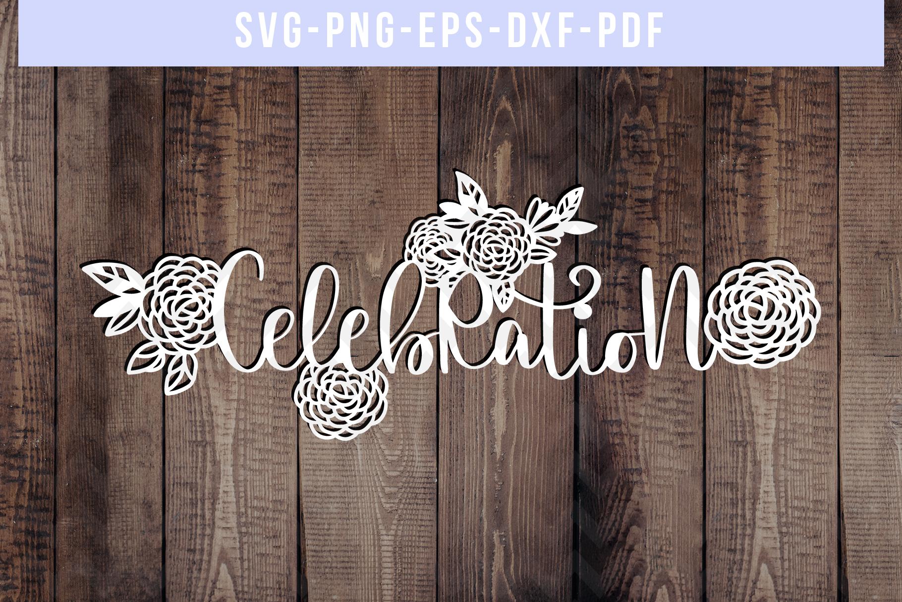 Bundle Of 9 Birthday Papercut Templates, SVG Cut Files, PDF example image 5