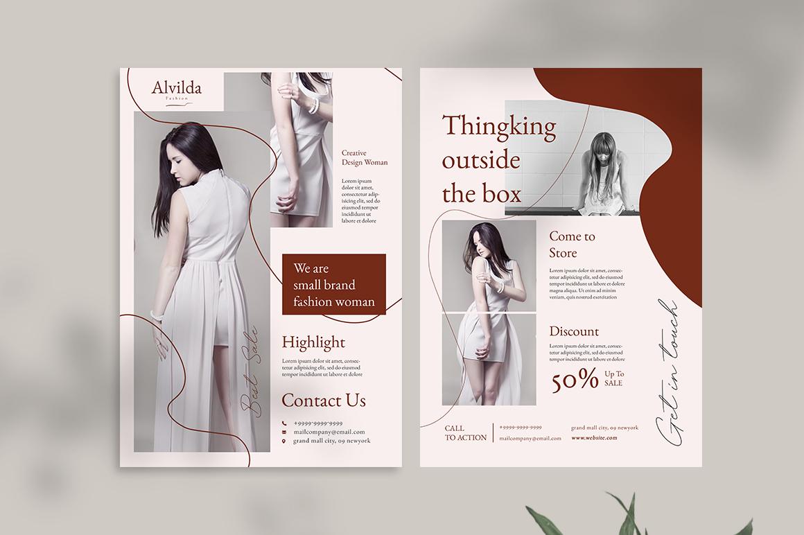 Alvida Flyer Templates example image 7
