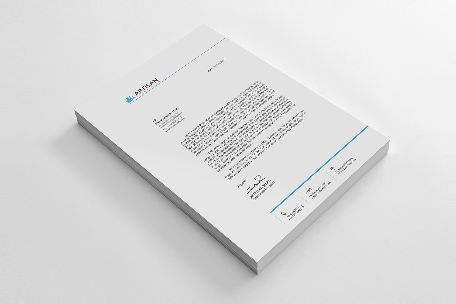 Simple Letterhead Bundle example image 7