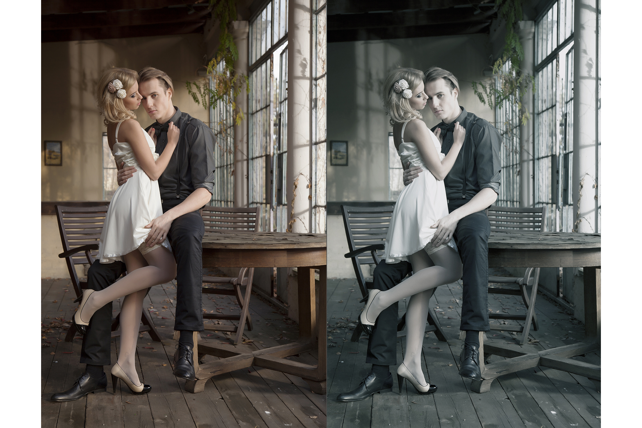 158 Retro Vintage Photoshop Actions Collection (Action for photoshop CS5,CS6,CC) example image 4
