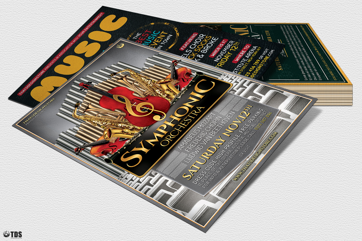 Special Orchestra Flyer Bundle example image 4