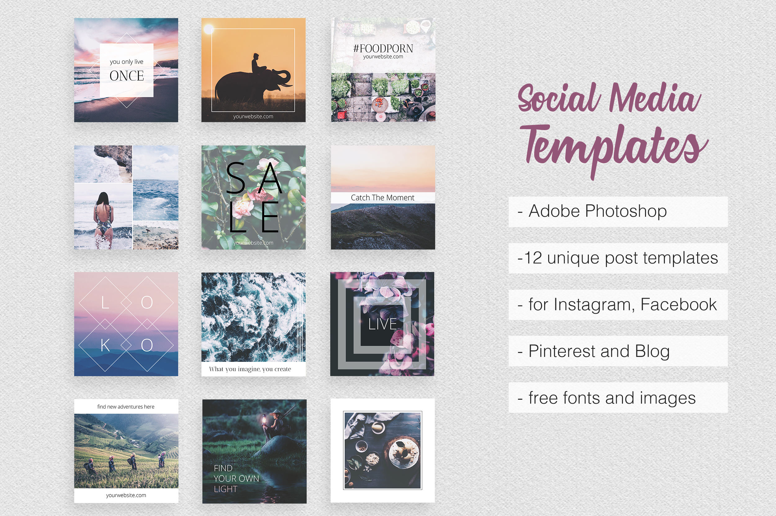 Asian Dream Social Media Pack Part 2 example image 1