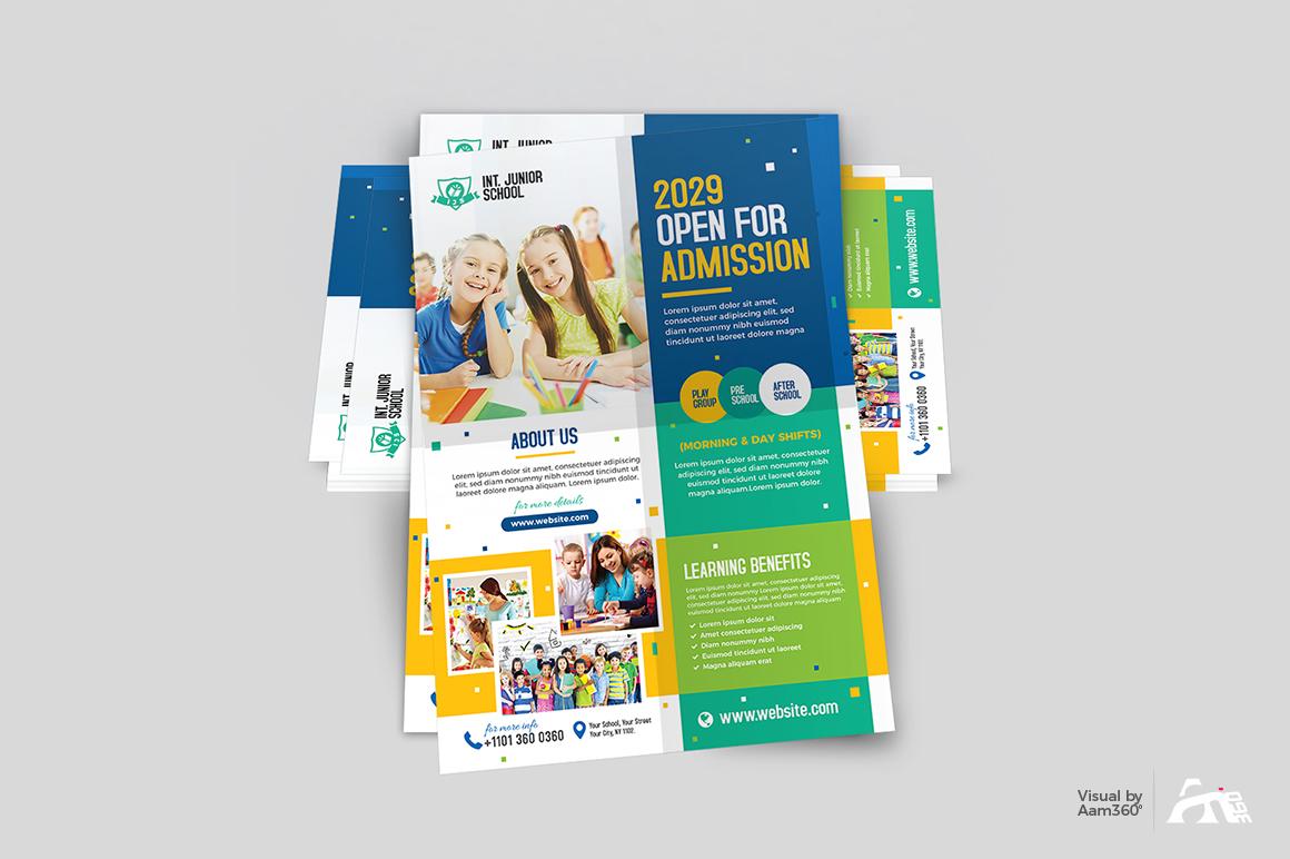 Junior School Admission Flyer example image 3
